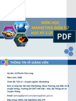 Syllabus - Mon Hoc Marketing Dien Tu