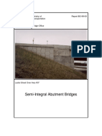 Semi-Integral Abutment Bridges