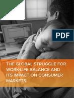 La Lucha Global Para Equilibrar Vida Laboral y Su Impacto en Los Mercados de Consumo