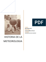 Historia de La Meteorologia. Final