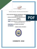 Facultades de La Administracion Tributaria y Su Facultad Discrecional