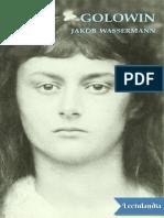 Golowin - Jakob Wassermann