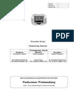 SPO Monitoring Kinerja