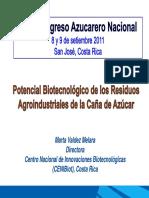 Potencial Biotecnológico de Los Residuos Agroindustriales de La Caña de Azúcar