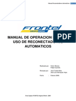 Manual Uso de Reconectadores Automaticos