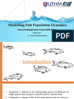 Modelling Fish Population Dynamics