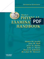 Mosby s Physical Examination Handbook