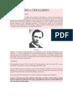 5to. Año Contenido 2 (Tema # 3) de 2do. Lapso Modernismo y Criollismo (1)
