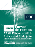 AVILA.cursosdeverano2016