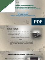 3. Kebijakan Pembinaan Petugas Direktur Bina Haji