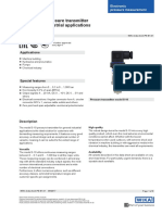 WIKA Pressure Transmitter s10 data sheet
