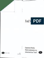 Manual Ford Nugget en español- Equipamiento Westfalia