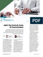 Agile dan Kontrak Kerja Di Pemerintahan