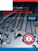 ERP Project Toolkit - How to Spec an ERP System - A Complete Step-By-Step Guide - Part Two