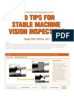100 Tips for Stable Machine Vision Inspections Vol1