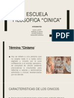 Escuela Filosofica Cinica1