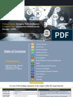 Companhia Paranaense de Energia - COPEL Company Profile and Tech Intelligence Report, 2018