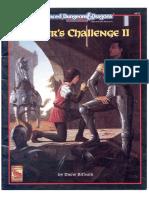 D&D2 - Solo Adventure - Fighter's Challenge II