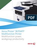 Phaser 3635 MFP Broc