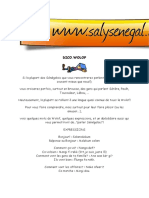 Wolof Dictionnaire 1