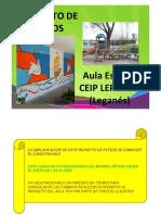 Ceip Lepanto-proyecto Patios