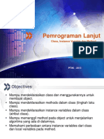 Class Instance Variable Dan Method