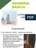 3. Principales Labores