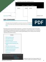 SSH Command - Usage, Options, Configuration _ SSH.com