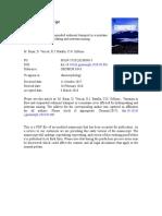 Variación en El Flujo y Transporte de Sedimentos