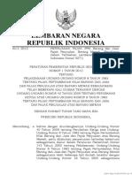 PP Nomor 1 Tahun 2012 (PP Nomor 1 Tahun 2012)