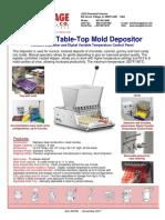 Universal Mold Depositer Sales Brochure 2018.pdf