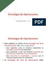 Estrategia de Operaciones C2 Krajewski 8E by AISG 11 Mayo 2018