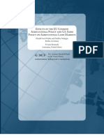 Effects of the EU Common Agricultural Policy and U.S. Farm Policy on Agricultural Land Markets