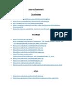 sources document