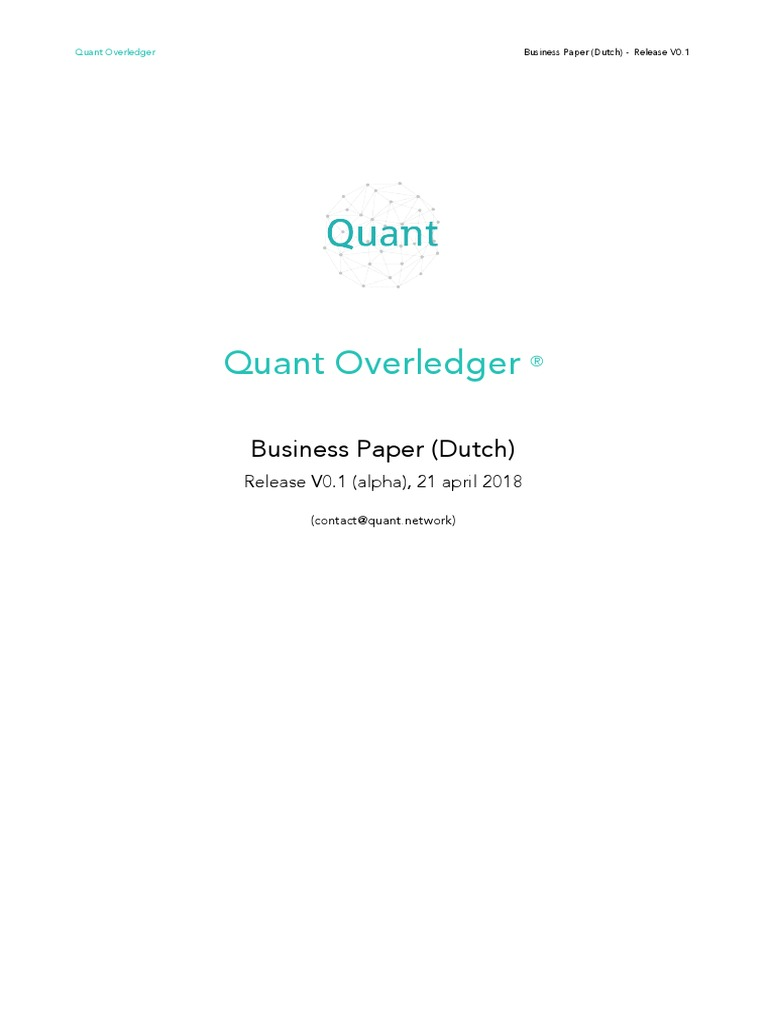 dutch quant wp translation