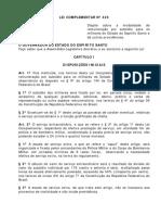 36-Lei Que Dispõe Sobre a Remuneração Por Subsídio - Lei_Complementar_420