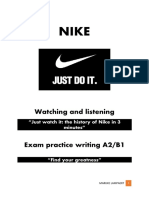 nike watching listening and writing