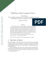 Diffraction of EM Waves Brosa