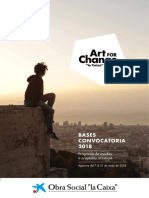 Bases Art for Change 2018 Es