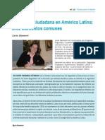 Seguridad Ciudadana en America Latina
