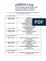 PCO Training Category A_training Schedule_2018.06_GREEN Corp