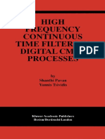 Yannis Tsividis, Shanthi Pavan-High Frequency Continuous Time Filters in Digital CMOS (2000).pdf