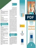 Tríptico Programa Plurirregional FPB 17 18