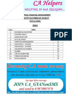 Reduced SizeSFM Formula Theory Notes CA Final by CAhelpers