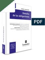 Derecho de Las Obligaciones. Tomo I. Calvo Costas. 2016