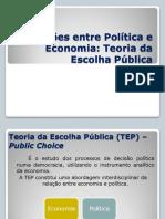 Teoria Da Escolha Publica