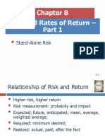Ch8_Risks and Rates of Return_Part 1_FOR CLASS
