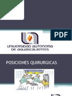 Posiciones Quirurgícas