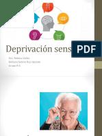 Deprivación Sensorial