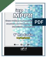 Topjuris Rodada 1 MPPR